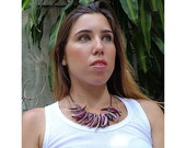 Colares de madrep�rola, mother-of-pearl necklaces