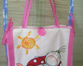 BOLSA-TOALHA DE PRAIA.