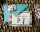 Kit Cartes - Infantil e Teen