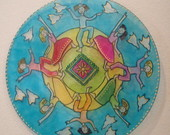 MANDALAS VITRAL INFANTIL