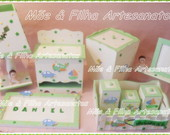 Kit Beb MDF- Decorao Infantil