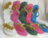 HAVAIANAS BORDADAS