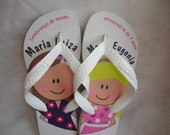 HAVAIANAS INFANTIL PERSONALIZADA
