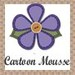 Cartoon mousse/Patchwork no isopor