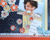 Quadros de scrapbook com temas