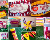 Festa Personalizada Circo Vintage 