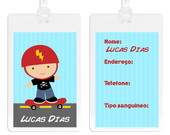 Etiquetas personalizadas