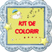 Kit de Colorir.