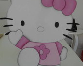 Decora��o Hello Kitty