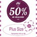 At� 50% off Plus Size