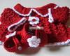 Conjunto Red Flowers