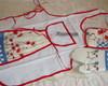 Kit - Avental de cozinha, luva e pegador