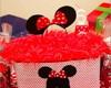 Porta Bolo da Festa da Minnie e Mickey
