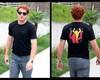 Camiseta obra de arte Keith Haring
