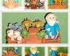 Arca de Noe em biscuit
