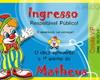 Convite Ingresso Circo - Digital