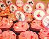 Topper para Cupcake Barbie Moda e Magia