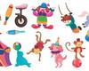 Adesivos Decorativos - Circo