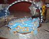 cesta com lembrancinhas para ch� de beb�