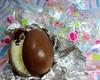 Ovinhos de chocolate recheados
