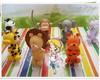 Conjunto safari baby com vela m�gica