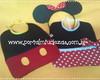 Babador Minnie OU Mickey - unidade