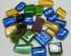 Blisters de vidro Mix 4 cores