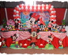Decora��o de festa Minnie Vermelha