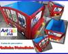 Caixa de presentes Galinha Pintadinha