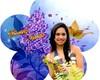 Rel�gio Flor para 15 anos