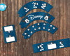 Mickey Mouse Disney Navy Azul Kit Party