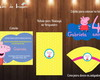 Kit Festa Digital Peppa Pig -12 itens