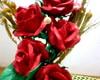 Arranjo rosas vermelhas marieta
