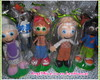 Kit festa Cocoric� com 11 personagens