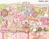 Kit Digital Beb� Menina (1)