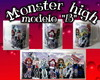 Caneca monster high Modelo