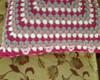 Almofada em croch�