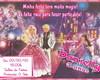 Convite Barbie Moda e Magia