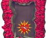 ~ Porta-Retrato de Rosas Vermelhas ~