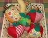 Frutas em patchwork