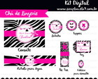 Kit Digital para Chá de Lingerie