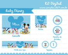 Kit Digital Baby Disney