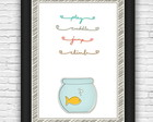 Quadro#60 - Little Fish