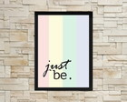 Poster Just Be Rainbow