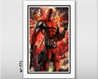 Quadro deadpool 60x40cm Games Comics