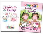 Kit Revista Colorindo com Hello Kitty