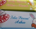 Chocolate Mini Kit Kat Personalizado