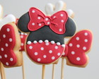 Biscoito Minnie Mouse