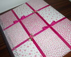 CADERNO DE MENSAGENS PATCH PINK ESPIRAL