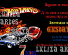 Arte Digital Convite Hot Wheels